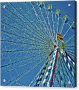 Bavarian Fairy Wheel Acrylic Print by Juergen Weiss