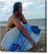 Beach Bliss Acrylic Print by Patricia Taylor