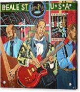 Beale Street Acrylic Print by John Keaton