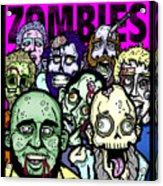 Bearded Zombies Group Photo Acrylic Print by Christopher Capozzi
