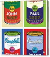 Beatles Soup Acrylic Print by Gary Grayson