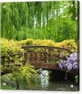 Beautiful Garden Art Acrylic Print by Boon Mee