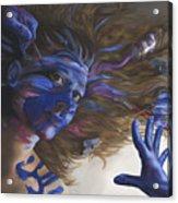 Being Art Acrylic Print by Katherine Huck Fernie Howard