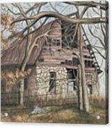 Bella Vista Barn Acrylic Print by Patty Vicknair