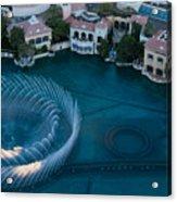 Bellagio Shoreline Acrylic Print by Andy Smy