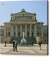 Berlin - Gendarmenmarkt Acrylic Print by Marc Huebner