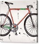Bicyclebicyclebicycle Acrylic Print by Emily Jones