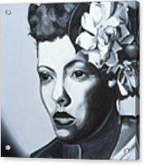 Billie Holiday Acrylic Print by Kaaria Mucherera