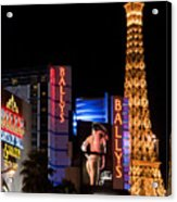 Bills Ballys And Paris Acrylic Print by Andy Smy