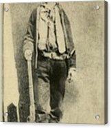 Billy The Kid 1859-81, Killed Twenty Acrylic Print by Everett