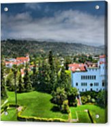 Birdseye View Of Santa Barbara I Acrylic Print by Steven Ainsworth