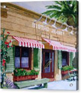 Bistro Jeanty Napa Valley  Acrylic Print by Gail Chandler