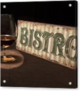 Bistro Still Life I Acrylic Print by Tom Mc Nemar