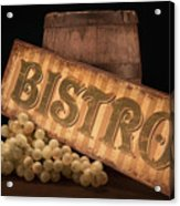 Bistro Still Life IIi Acrylic Print by Tom Mc Nemar