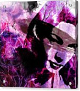 Black Magic Women Acrylic Print by Ramneek Narang