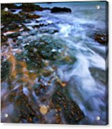 Black Point Light Acrylic Print by Meirion Matthias