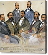 Black Senators, 1872 Acrylic Print by Granger