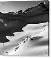 Blackcomb Backcountry Acrylic Print by Ian Stotesbury