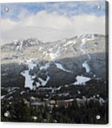 Blackcomb Mountain Acrylic Print by Pierre Leclerc Photography
