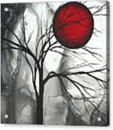 Blood Of The Moon 2 By Madart Acrylic Print by Megan Duncanson