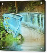 Blue Bridge Acrylic Print by Svetlana Sewell