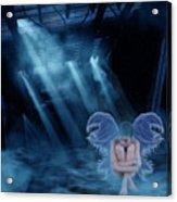 Blue Fairy Acrylic Print by Maggie  Smith