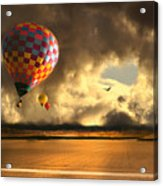Blue Skies Ahead Acrylic Print by Artist and Photographer Laura Wrede