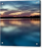 Blue Skies Of Reflection Acrylic Print by Jonas Wingfield
