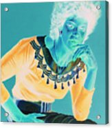 Bobbi Acrylic Print by Jean Hildebrant