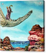 Bogomils Journey Acrylic Print by Otto Rapp