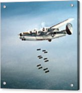 Bombs Away Acrylic Print by Marc Stewart