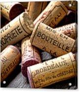 Bordeaux Acrylic Print by Olivier Le Queinec