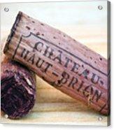 Bordeaux Wine Corks Acrylic Print by Frank Tschakert