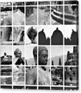 Borobudur In Frame Acrylic Print by Mario Bennet