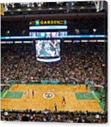 Boston Celtics Acrylic Print by Juergen Roth