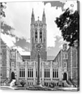 Boston College Gasson Hall Acrylic Print by University Icons