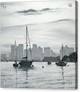 Boston Skyline  Acrylic Print by Matthew Martelli