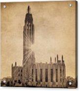 Boston United Methodist Church Acrylic Print by Tamyra Ayles