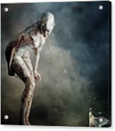 Bound Acrylic Print by Mary Hood