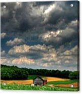 Brooding Sky Acrylic Print by Lois Bryan