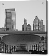Bryant Park Acrylic Print by Christian Heeb