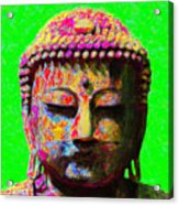Buddha 20130130m100 Acrylic Print by Wingsdomain Art and Photography