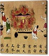 Buddha Acrylic Print by Granger