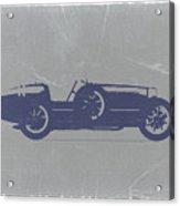 Bugatti Type 35 Acrylic Print by Naxart Studio