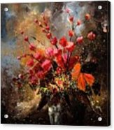 Bunch 1207 Acrylic Print by Pol Ledent