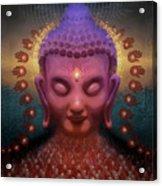 Burmese Step Acrylic Print by George Atherton