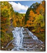 Buttermilk Falls 2 Acrylic Print by Mark Papke