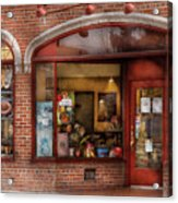 Cafe - Westfield Nj - Tutti Baci Cafe Acrylic Print by Mike Savad