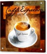 Caffe Espresso Acrylic Print by Lourry Legarde