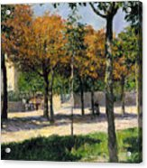 Caillebotte: Argenteuil Acrylic Print by Granger